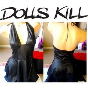 Dolls kill dress BDSM🖤